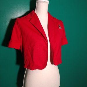 80's vintage pink blazer